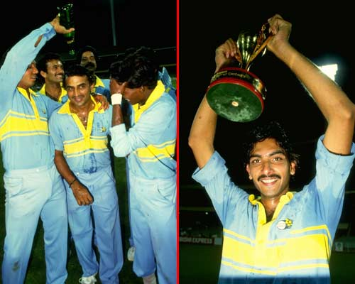Sunil Gavaskar 1985 Benson and Hedges Final