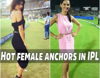 Hot Female Anchors in Cricket Shows