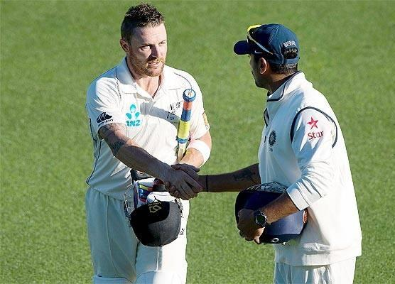 Brendon McCullum and Murali Vijay