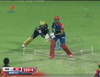 Yuvraj Singh Wicket Delhi