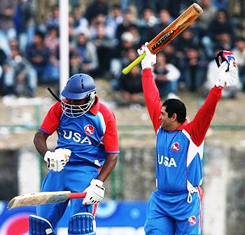 USACA Aditya and Sushil win over Nepal