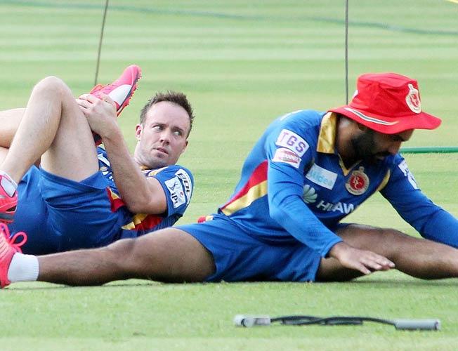 AB de Villiers - Hashim Amla