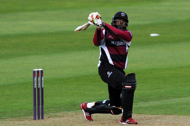 chris gayle somerset